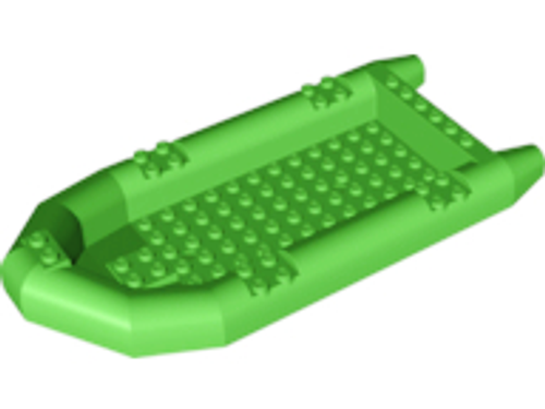 Boat, Rubber Raft, Large (Bright Green)
