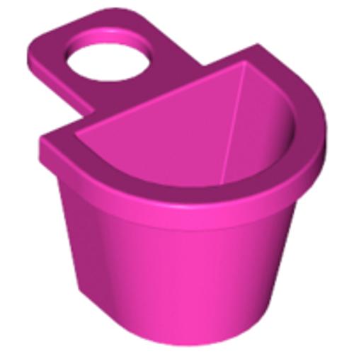 Container D-Basket (Dark Pink)