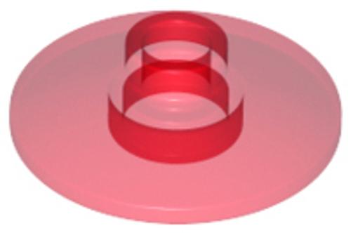 Dish 2x2 Inverted (Radar) (Trans Red)