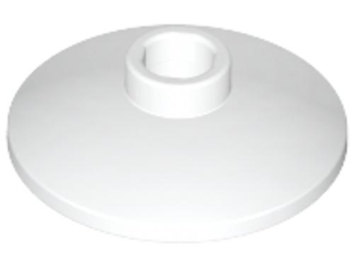 Dish 2x2 Inverted (Radar) (White)