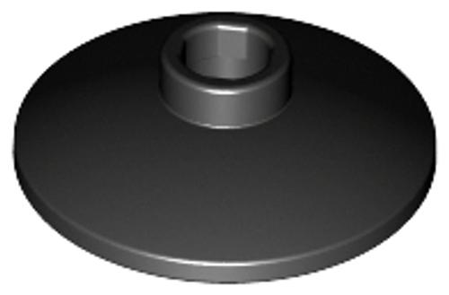 Dish 2x2 Inverted (Radar) (Black)