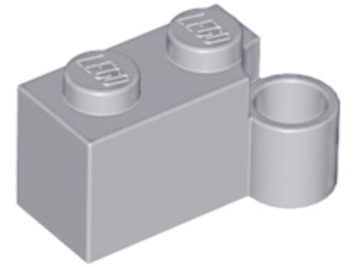 Hinge Brick 1 x 4 Swivel Base (Light Bluish Gray)