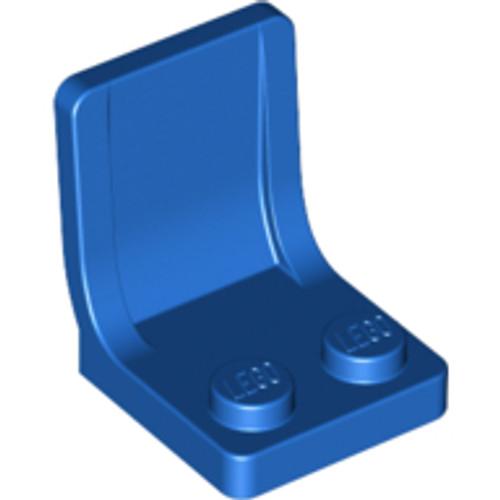 Minifigure, Utensil Seat (Chair) 2x2 (Blue)