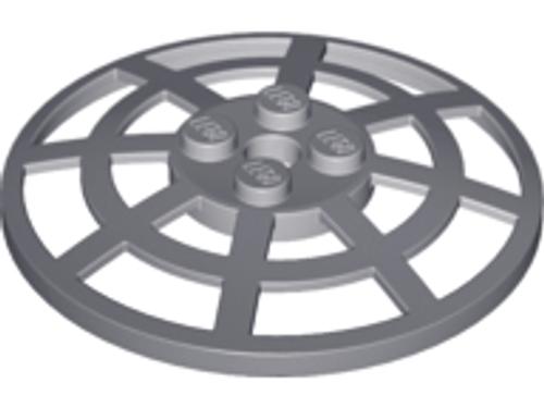 Dish 6x6 Inverted (Radar) Webbed - Type 2 (Dark Bluish Gray)