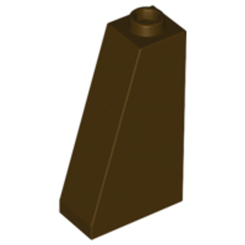 Slope 75 2x1x3 - Hollow Stud (Dark Brown)