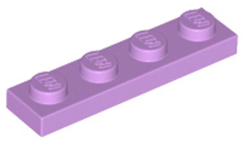 Plate 1x4 (Medium Lavender)
