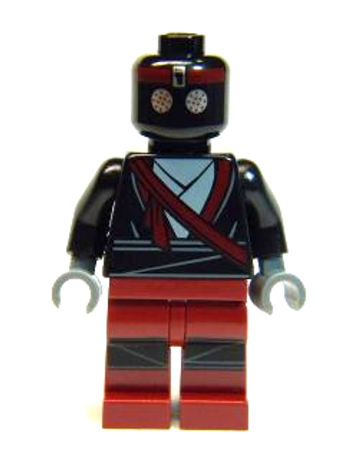 Foot Soldier - Robot, Dark Red Legs (tnt005)
