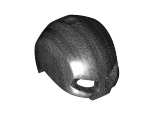 Minifigure, Headgear Helmet Mask (Pearl Dark Gray)
