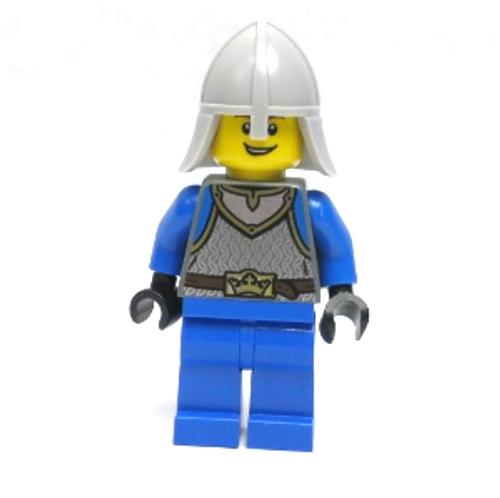 Castle - King's Knight Scale Mail, Crown Belt, Helmet (cas540)