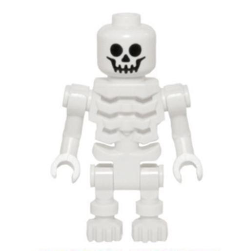 Skeleton with Standard Skull, Angular Rib Cage (gen066)