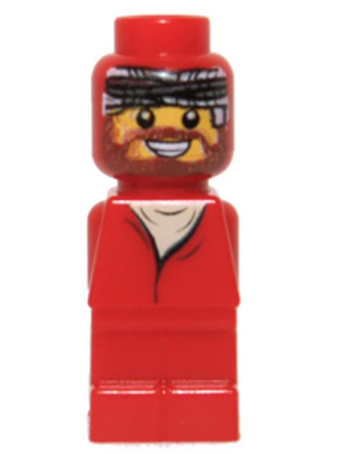 Microfigure Ramses Pyramid Adventurer Red (85863pb007)