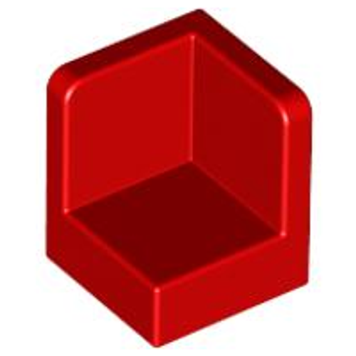 Panel 1x1x1 Corner (Red)