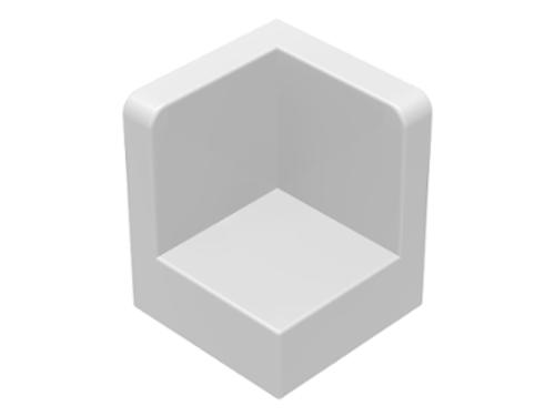 Panel 1x1x1 Corner (White)