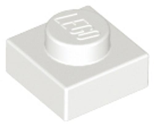 Plate 1x1 (White)