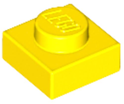 Plate 1x1 (Yellow)