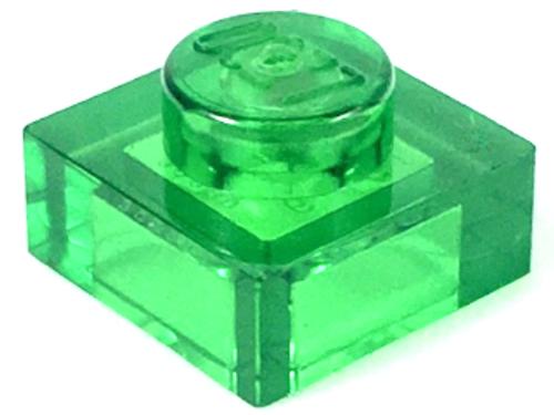 Plate 1x1 (Trans Green)