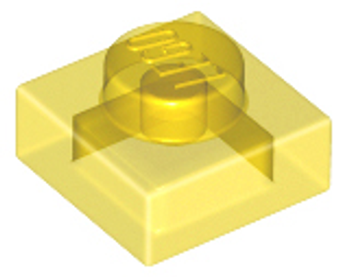 Plate 1x1 (Trans Yellow)