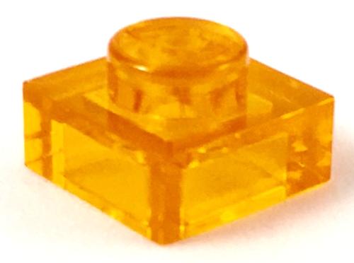 Plate 1x1 (Trans Orange)