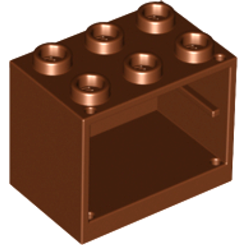Container, Cupboard 2x3x2 (Reddish Brown)