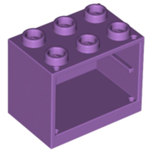 Container, Cupboard 2x3x2 (Medium Lavender)