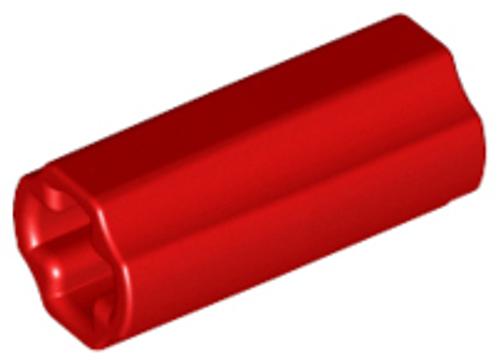 Technic, Axle Connector 2L (Red)