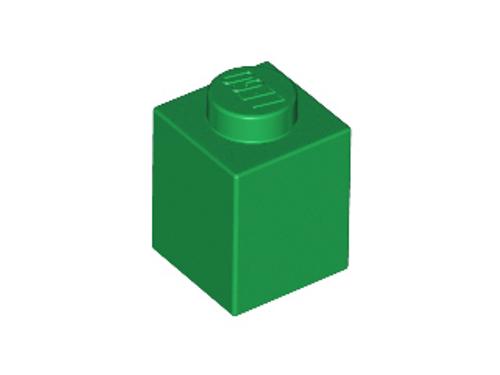 Brick 1x1 (Green)
