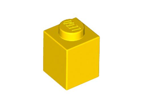 Brick 1x1 (Yellow)