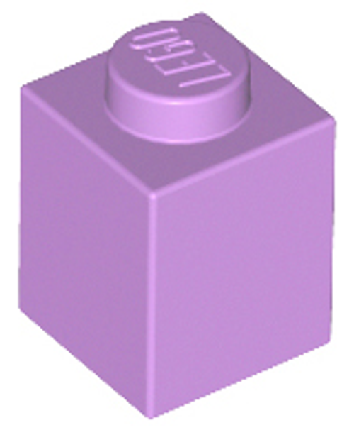 Brick 1x1 (Medium Lavender)