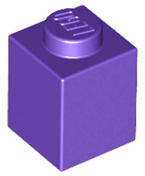 Brick 1x1 (Dark Purple)