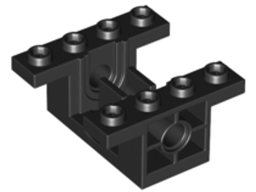 Technic, Gearbox 4x4x1 2/3 (Black)
