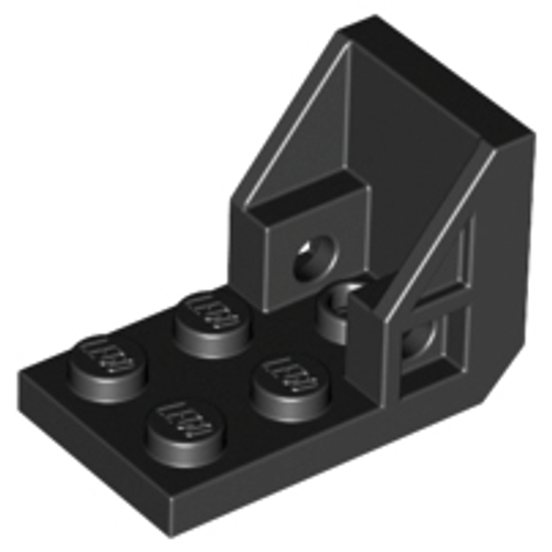 Bracket 3x2 - 2x2 (Space Seat) (Black)