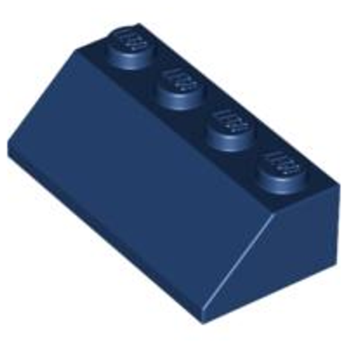 Slope 45 2x4 (Dark Blue)