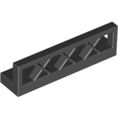 Fence 1x4x1 (Black)