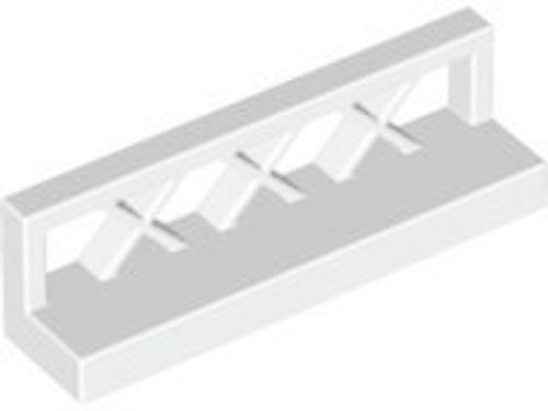 Fence 1x4x1 (White)