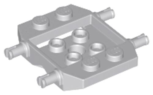 Vehicle, Base 3x4x 2/3 (Light Bluish Gray)