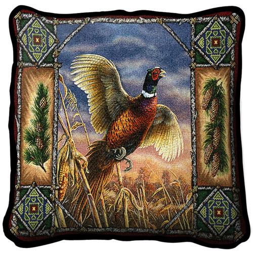 Pheasant Lodge Pillow