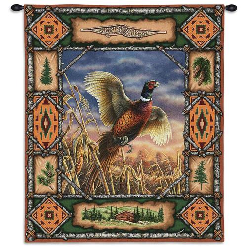 Pheasant Lodge Wall Tapestry