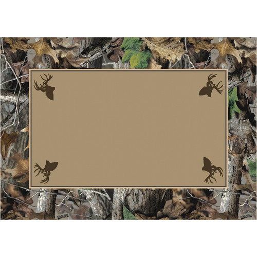 Realtree Advantage Timber Solid Center Rug - 3 x 4