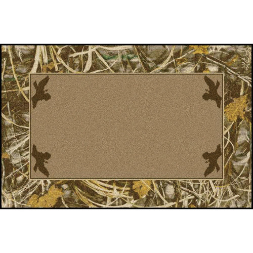 Realtree Max-4 Solid Center Rug - 4 x 5