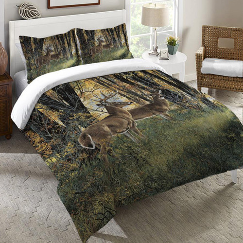 Autumn Forest Scene Bedding Collection - OVERSTOCK