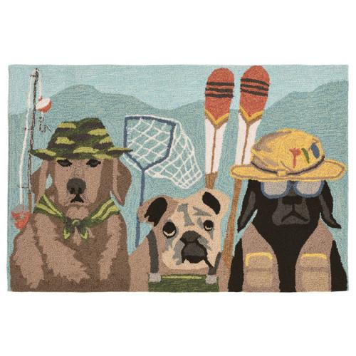 Dawn Patrol Dogs Indoor/Outdoor Rug Collection