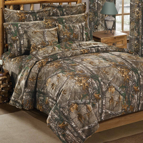 Xtra Realtree Camo Comforter Set - Twin - OUT OF STOCK UNTIL 11/3/2021