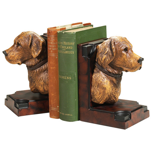 Yellow Lab Bookends