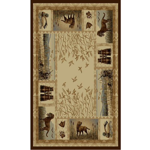 Hunter's Best Friend Rug Collection