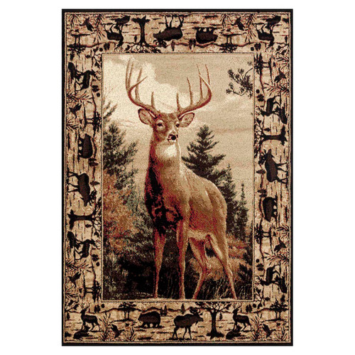 King of the Forest Rug Collection