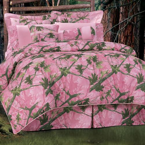 Pink Camo Bedding Collection