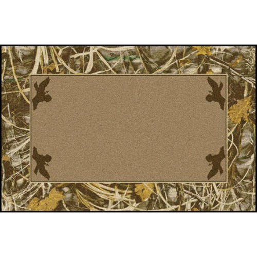 Realtree Max-4 Solid Center Rugs