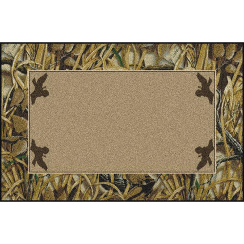 Realtree Wetlands Solid Center Rugs