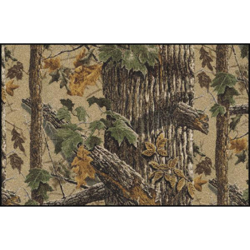 Realtree X-tra Brown Solid Camo Rugs