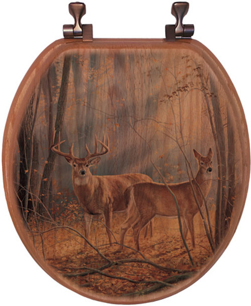 Woodland Splendor Toilet Seat